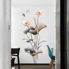 Self-Adhesive Lotus Flower Wall Sticker DIY Art Decals Home Decor Removable Hot