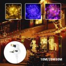 100/200/300 LED Plug in Waterproof Fairy String Garden Lights Party Decor Home