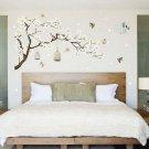 Tree Flower Wall Stickers 3D Vinyl Art Decals Home Room Kids Decoration Decor CA