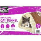 Self Heating Pet Tunnel Bed 2 in 1 Portable Thermal Mattress Mat for Cat Dog