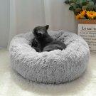 ExtraLarge Pet Dog Cat Calming Bed Comfy Shag Warm Fluffy Bed Nest Mattress 80cm
