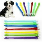 Double Ended Pet Toothbrush Dog Cat Dental Teeth Cleaning Oral Hygiene UK Seller