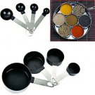 Stainless Steel Measuring Cups Spoons Teaspoon Kitchen Cooking Tool 8Pcs - UK