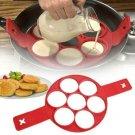Flipping Fantastic NonStick Pancake Maker Silicone Cooking Mould Egg Omelette UK