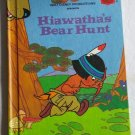 Walt Disney Productions Presents Hiawatha's Bear Hunt Hardcover Book