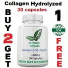 Collagen Hydrolyzed 1000mg Skin Nails and Hair Health