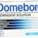 Domeboro Powder Packets 12 Each
