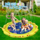"Splash Play Mat, Outdoor Sprinkle and Splash Water Party Sprikler Pad 59"" Garden Water Summer Spray"