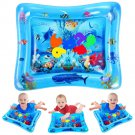 Kid Inflatable Tummy Time Water Play Mat  is Perfect Sensory  Early Development Activity