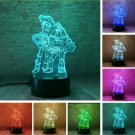 Child Favor Toy Story Buzz Lightyear Woody RGB Color Change Table Decor Night Light