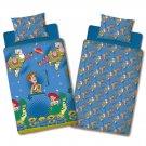 Disney Toy Story 'Friends' Single/Double Duvet Cover Reversible Bedding Set (Single Duvet)
