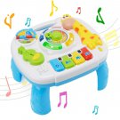 Learning Activity Table Music Toy 2 in 1 Early Education Toys Music Activity Center Table