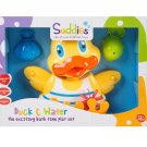 Little Helper CPWDX-92767-UK Bath Time Duck Play Set, Multicoloured