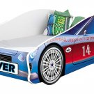 CHILDREN KIDS BED CAR + FREE MATTRESS TODDLER BOYS GIRLS 180x80