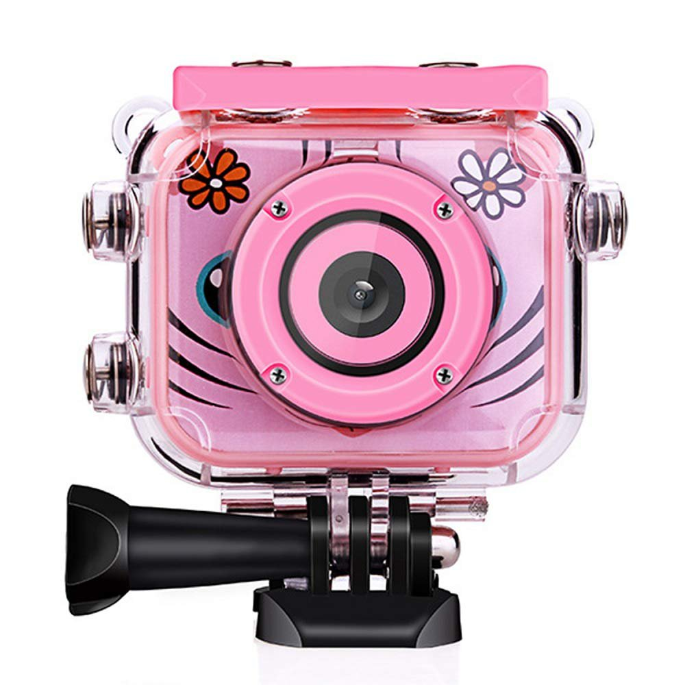 Kids Camera,Kids Digital Camera 1080P HD Rechargeable Action Camcorde