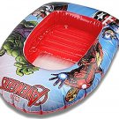 Marvel Avengers Inflatable Dinghy Boat Kids Swimming Pool Beach Toy