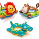 Childs Kids Inflatable Animal Swim Ring Swimming Paddling Pool Float Toy