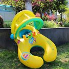 Mother and Baby Inflatable Swimming Water Float Pool Boat with Adjustable