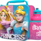 3D LUNCH BAGS WITH SPORTS BOTTLE SET (DISNEY PRINESS)