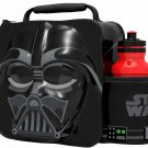 3D LUNCH BAGS WITH SPORTS BOTTLE SET (DARTH VADER)