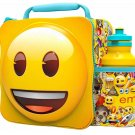 3D LUNCH BAGS WITH SPORTS BOTTLE SET (EMOJI)