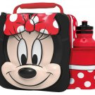 3D LUNCH BAGS WITH SPORTS BOTTLE SET (MINNIE MOUSE)