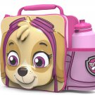 3D LUNCH BAGS WITH SPORTS BOTTLE SET (PAW PATROL PINK)