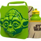 3D LUNCH BAGS WITH SPORTS BOTTLE SET (YODA)