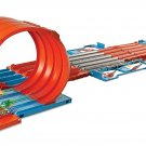 Hot Wheels FTH77 Builder Race Crate Connectable Track Set with Loops,