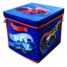 Hot Wheels ZipBin 300 Car Storage Cube and Playmat