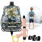 Water Pistol Large Capacity Backpack Water Gun, Beach Toy And Outdoor