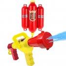 Fireman Toys Backpack Water Pistol Spraying Toy Blaster Extinguisher