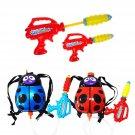 Childrens Set of 2 Ladybird 2L Backpack Water Gun Wet Toys )