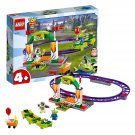 LEGO 10771 4+ Toy Story 4 Carnival Thrill Coaster with Buzz Lightyear and Alien Minifigures