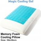 Magic Cooling Gel Blue Cool Pad Mat Orthopedic Mattress Topper Small Large