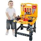 120 Pieces Toddlers Work Toys Construction Prime Play Tool Bench