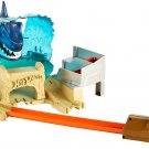 Hot Wheels FNB21 City Shark Beach Battle Play Set, Multicolour