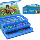 Nickelodeon Paw Patrol Boys 52 Pieces Childrens Kids Arts Crafts Carry Along Case Toy Vanity Set