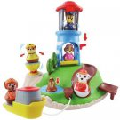 95919 - Paw Patrol Toy - Pull and Play Seal Island Playset - Weebles - Includes Marshall Figure