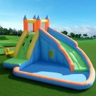 Inflatable Bouncy Castle Jumper House Water Pool Slide Activity Center