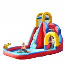 Kids Inflatable Bouncy Castle House Bouncer Water Park with Water Slide,