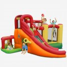 Bouncy Castle, 450x380x230CM, Inflatable Bouncer with Air Blower,