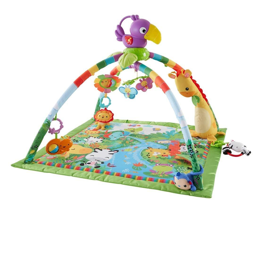 Fisher-Price DFP08 Rainforest Gym, Baby Playmat