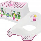 Solutions EU 49509 Peppa Pig and George Steady Potty with Non Slip Feet