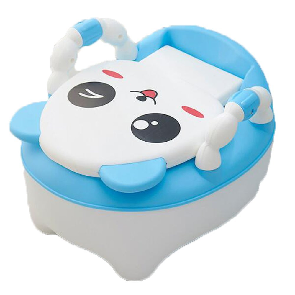 Children's Toilet Seat Baby Toddler Trainer Potty Toilet Seat (Blue)