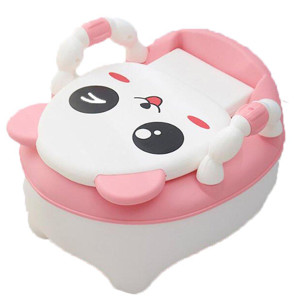 Children's Toilet Seat Baby Toddler Trainer Potty Toilet Seat (Pink)