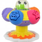 TOMY Toomies Sort and Pop UFO Spinning Educational Shape Sorter Toy Suitable From 10 Months