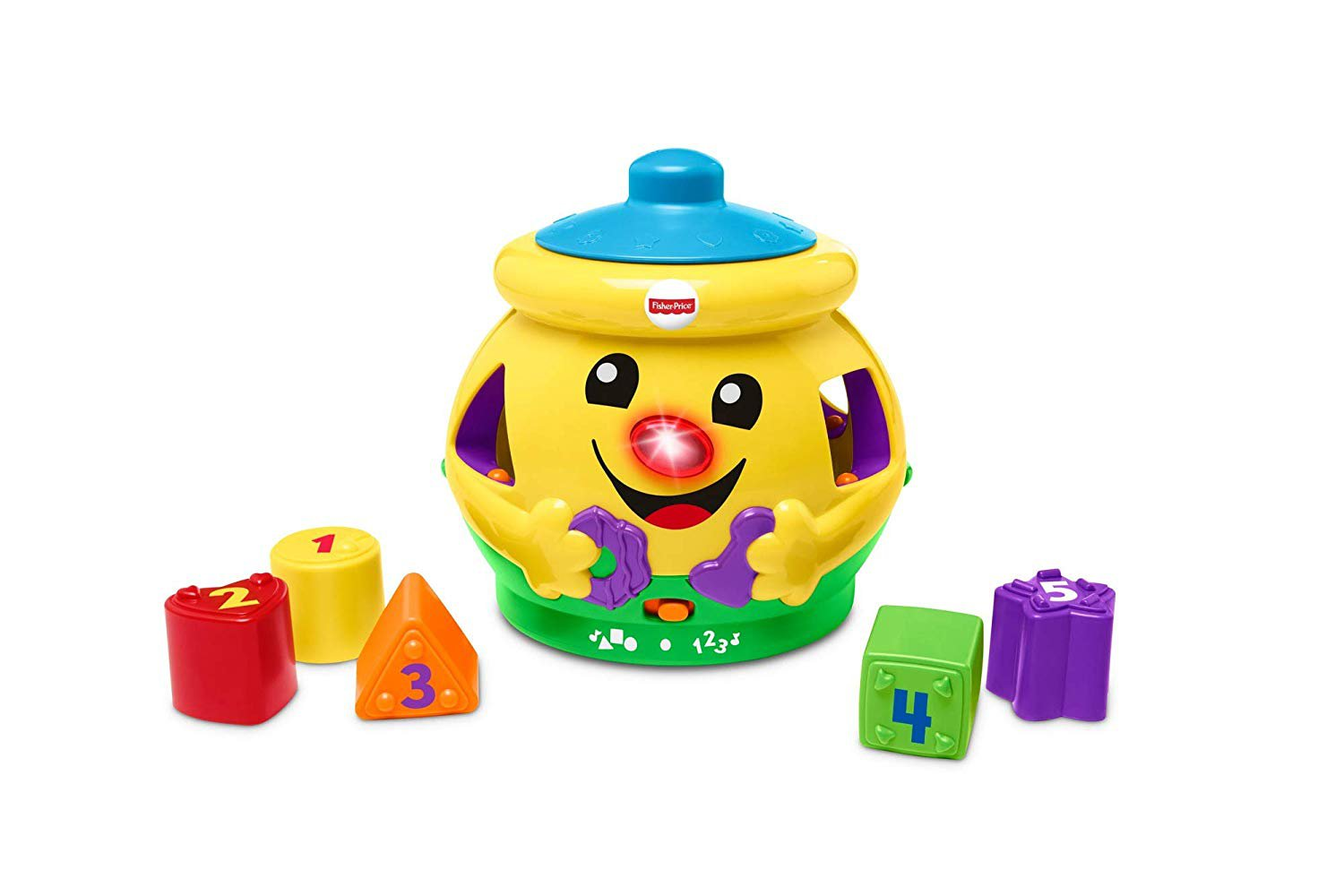 Fisher-Price H8179 Cookie Shape Surprise, Laugh and Learn Shape Sorter