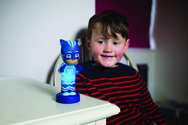 PJ MASKS Catboy Illumi-Mate Mask, Blue, 6.5 x 5.3 x 13.5 cm
