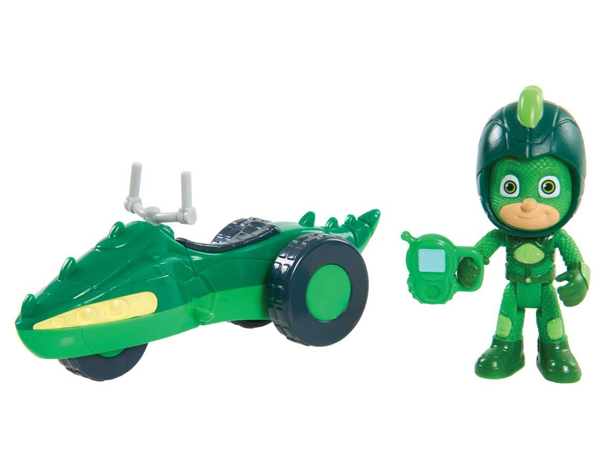 JP PJ Masks JPL95113 Super Adventure Gekko Moon Rover Figure and Vehicle